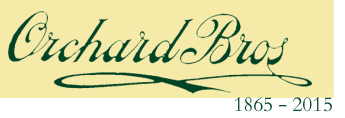 ORCHARD Bros&nbsp;<br />1865 - 2015